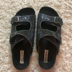 Steve Madden Shoes - Steve Madden rhinestone sandals sz 9.5